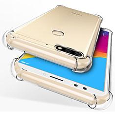 Coque Ultra Fine Silicone Souple Transparente pour Huawei Honor 7C Clair