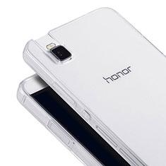 Coque Ultra Fine Silicone Souple Transparente pour Huawei Honor 7i shot X Clair