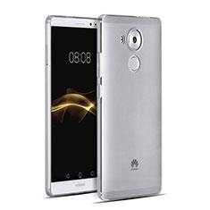Coque Ultra Fine Silicone Souple Transparente pour Huawei Mate 8 Gris