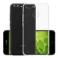 Coque Ultra Fine Silicone Souple Transparente pour Huawei Nova 2 Plus Clair