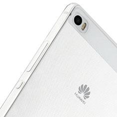 Coque Ultra Fine Silicone Souple Transparente pour Huawei P8 Max Clair