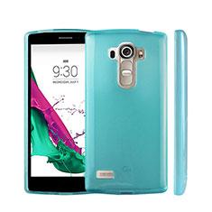 Coque Ultra Fine Silicone Souple Transparente pour LG G4 Beat Bleu Ciel