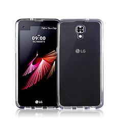 Coque Ultra Fine Silicone Souple Transparente pour LG X Screen Clair