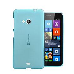 Coque Ultra Fine Silicone Souple Transparente pour Microsoft Lumia 535 Bleu