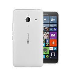 Coque Ultra Fine Silicone Souple Transparente pour Microsoft Lumia 640 XL Lte Blanc