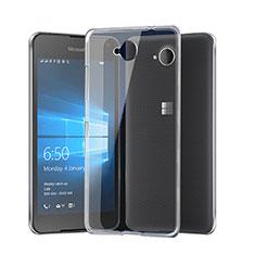 Coque Ultra Fine Silicone Souple Transparente pour Microsoft Lumia 650 Clair