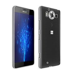 Coque Ultra Fine Silicone Souple Transparente pour Microsoft Lumia 950 Clair