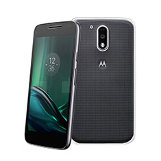 Coque Ultra Fine Silicone Souple Transparente pour Motorola Moto G4 Plus Clair