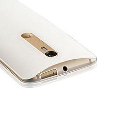 Coque Ultra Fine Silicone Souple Transparente pour Motorola Moto X Style Clair