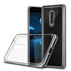 Coque Ultra Fine Silicone Souple Transparente pour Nokia 5 Clair