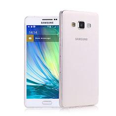 Coque Ultra Fine Silicone Souple Transparente pour Samsung Galaxy A5 Duos SM-500F Clair