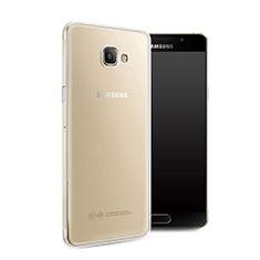 Coque Ultra Fine Silicone Souple Transparente pour Samsung Galaxy A7 (2016) A7100 Blanc