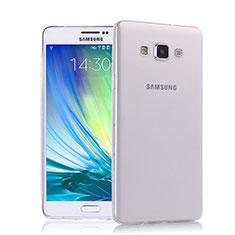 Coque Ultra Fine Silicone Souple Transparente pour Samsung Galaxy A7 Duos SM-A700F A700FD Clair