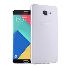 Coque Ultra Fine Silicone Souple Transparente pour Samsung Galaxy A9 (2016) A9000 Blanc