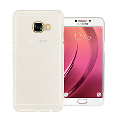 Coque Ultra Fine Silicone Souple Transparente pour Samsung Galaxy C5 SM-C5000 Blanc