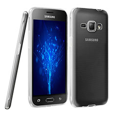 Coque Ultra Fine Silicone Souple Transparente pour Samsung Galaxy J1 (2016) J120F Clair