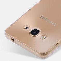 Coque Ultra Fine Silicone Souple Transparente pour Samsung Galaxy J3 Pro (2016) J3110 Clair
