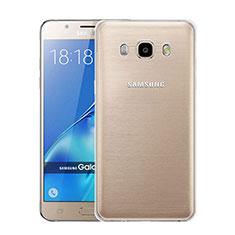 Coque Ultra Fine Silicone Souple Transparente pour Samsung Galaxy J5 Duos (2016) Clair