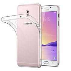 Coque Ultra Fine Silicone Souple Transparente pour Samsung Galaxy J7 Plus Clair