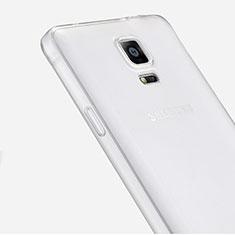 Coque Ultra Fine Silicone Souple Transparente pour Samsung Galaxy Note 4 SM-N910F Clair