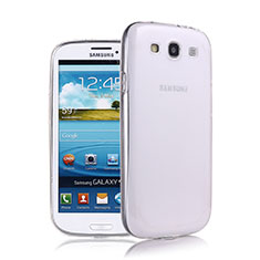 Coque Ultra Fine Silicone Souple Transparente pour Samsung Galaxy S3 III LTE 4G Blanc