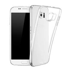 Coque Ultra Fine Silicone Souple Transparente pour Samsung Galaxy S6 Duos SM-G920F G9200 Clair