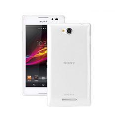 Coque Ultra Fine Silicone Souple Transparente pour Sony Xperia C S39h Clair