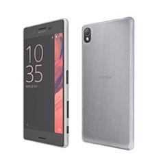Coque Ultra Fine Silicone Souple Transparente pour Sony Xperia X Blanc