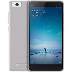 Coque Ultra Fine Silicone Souple Transparente pour Xiaomi Mi 4C Gris