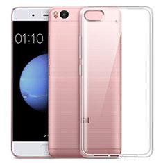 Coque Ultra Fine Silicone Souple Transparente pour Xiaomi Mi 5S 4G Blanc