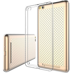 Coque Ultra Fine Silicone Souple Transparente pour Xiaomi Redmi 3 Clair
