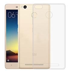 Coque Ultra Fine Silicone Souple Transparente pour Xiaomi Redmi 3X Clair