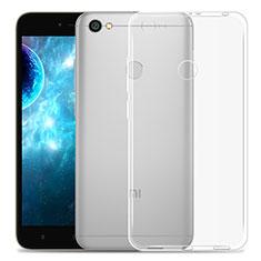 Coque Ultra Fine Silicone Souple Transparente pour Xiaomi Redmi Note 5A Prime Clair