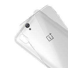 Coque Ultra Fine Silicone Souple Transparente R01 pour OnePlus X Clair