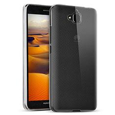 Coque Ultra Fine Silicone Souple Transparente T02 pour Huawei Y6 Pro Clair