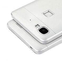 Coque Ultra Fine Silicone Souple Transparente T04 pour Huawei Enjoy 5S Gris