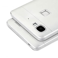 Coque Ultra Fine Silicone Souple Transparente T04 pour Huawei G8 Mini Gris