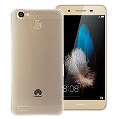 Coque Ultra Fine Silicone Souple Transparente T06 pour Huawei P8 Lite Smart Gris
