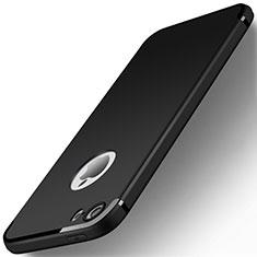Coque Ultra Fine Silicone Souple U01 pour Apple iPhone 5S Noir