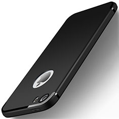 Coque Ultra Fine Silicone Souple U01 pour Apple iPhone SE Noir