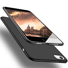 Coque Ultra Fine Silicone Souple U03 pour Apple iPhone SE Noir