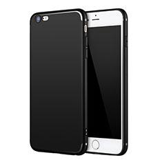 Coque Ultra Fine Silicone Souple U11 pour Apple iPhone 6 Noir