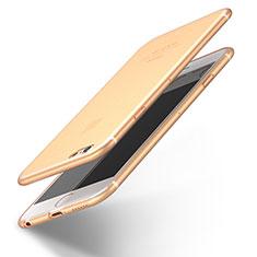 Coque Ultra Fine Silicone Souple U12 pour Apple iPhone 6S Or