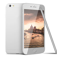 Coque Ultra Fine Silicone Souple U15 pour Apple iPhone 6 Blanc