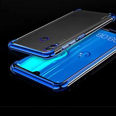 Coque Ultra Fine TPU Souple Housse Etui Transparente A04 pour Huawei Honor 8X Max Bleu