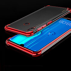 Coque Ultra Fine TPU Souple Housse Etui Transparente A04 pour Huawei Honor 8X Max Rouge