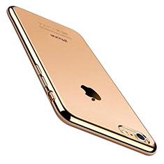 Coque Ultra Fine TPU Souple Housse Etui Transparente C01 pour Apple iPhone 8 Or