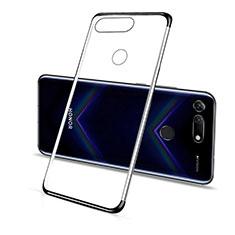 Coque Ultra Fine TPU Souple Housse Etui Transparente C01 pour Huawei Honor View 20 Noir