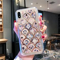 Coque Ultra Fine TPU Souple Housse Etui Transparente Fleurs T01 pour Apple iPhone XR Mixte