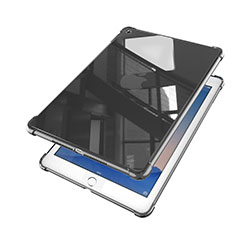Coque Ultra Fine TPU Souple Housse Etui Transparente H01 pour Apple iPad Air 2 Noir